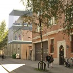 Umeå Folkets Hus, Idun - exteriör 3D-skiss