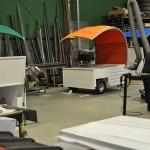 Korvvagn - produktion
