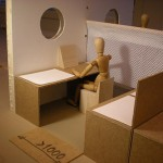 Ombyggnad kontor - modell