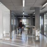 Sävar snickeri kontor - total ombyggnad. Ny inredning tillverkad av Sävar snickeri i samarbete med Olle S.